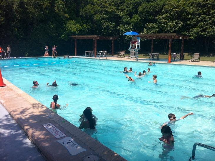 Swimming Pool Birthday Party San Antonio