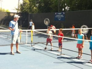 tennis & swim lessons combo program