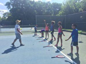 junior development tennis